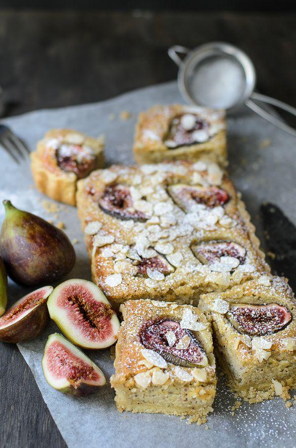 Delicious summer fruit bake ~ Fig Frangipane tarts
