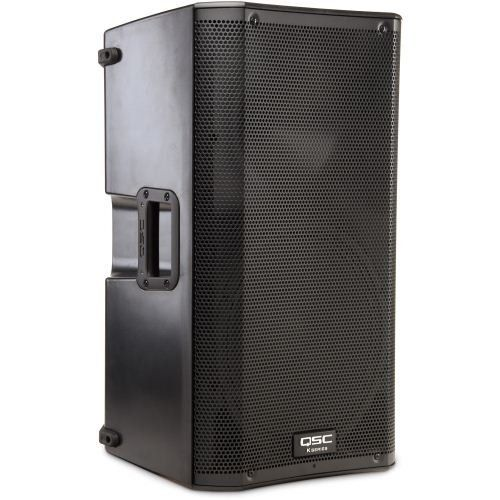 QSC K12 Powered PA Speaker by QSC. $799.00. The QSC K12 is a 1000 watt powered PA speaker featuring high quality for unparalleled performance and professional appearance that is at home in any application. Extensive DSP processing is employed throughout, providing levels of sonic clarity and total output that defy the system's size and weight. Housed in a rugged ABS enclosure, the K12 offers an additional measure of sonic clarity due to its internal rigidity. Ergonomic al...