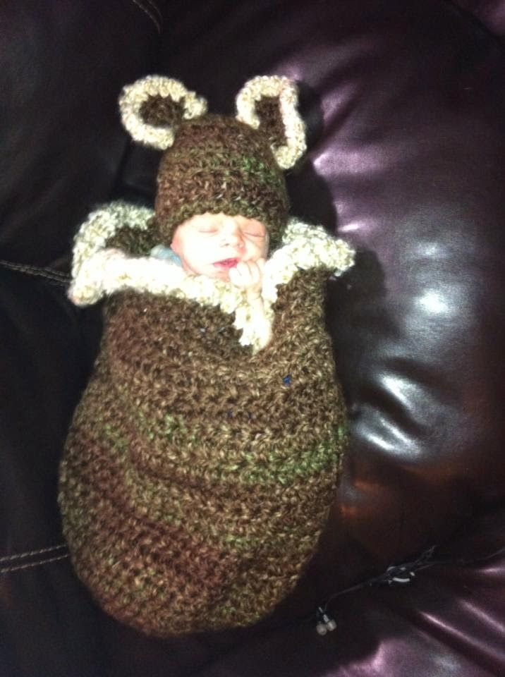 1000+ images about Crochet: Baby Cocoons Free Patterns on ...