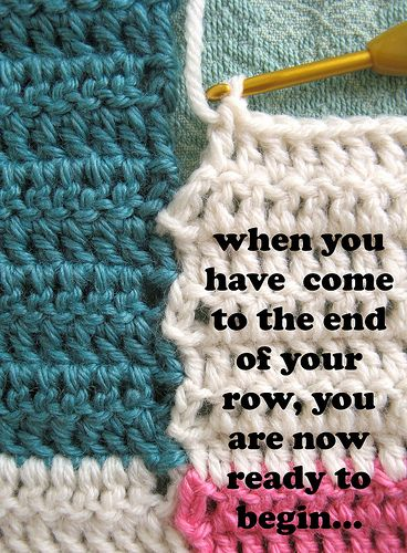 Simple way to join crochet squares