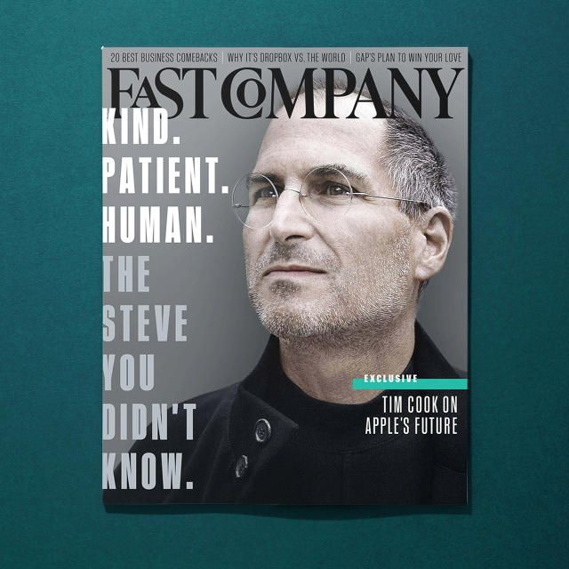 Fast Company's April Issue Reveals Steve Jobs's Real Legacy