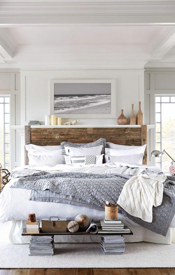 17 meilleures id es propos de t te de lit en bois sur for Decoration chez soi chambre coucher