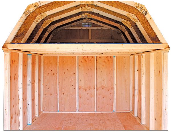 Side Porch Package Old Hickory Sheds Old Hickory