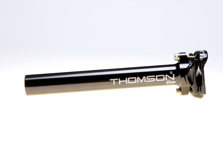 Thomson Bike Products | Elite Seatpost Series. The Thomson Elite seatpost is the standard by which all other seatposts are judged. Forged clamps, integrally machined head, and an elliptically extruded 7000 series aluminum body have made the Elite and the Setback Elite the industry models for strength, light weight and ease of adjustment.