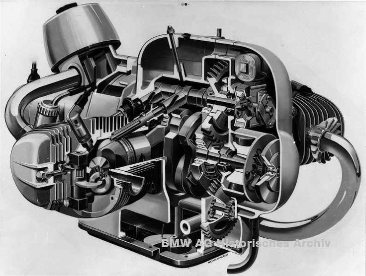 R69s engine detail < nuff said> I would love to have this hanging on my wall