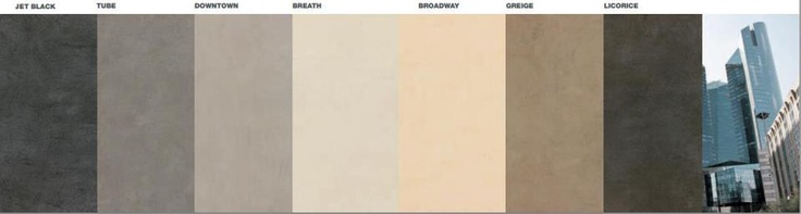 Range of tiles colors - Gate collection - Ceramiche Caesar