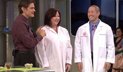 Talking acupuncture on the Dr. Oz Show