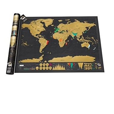 scratch off the countries you've travelled