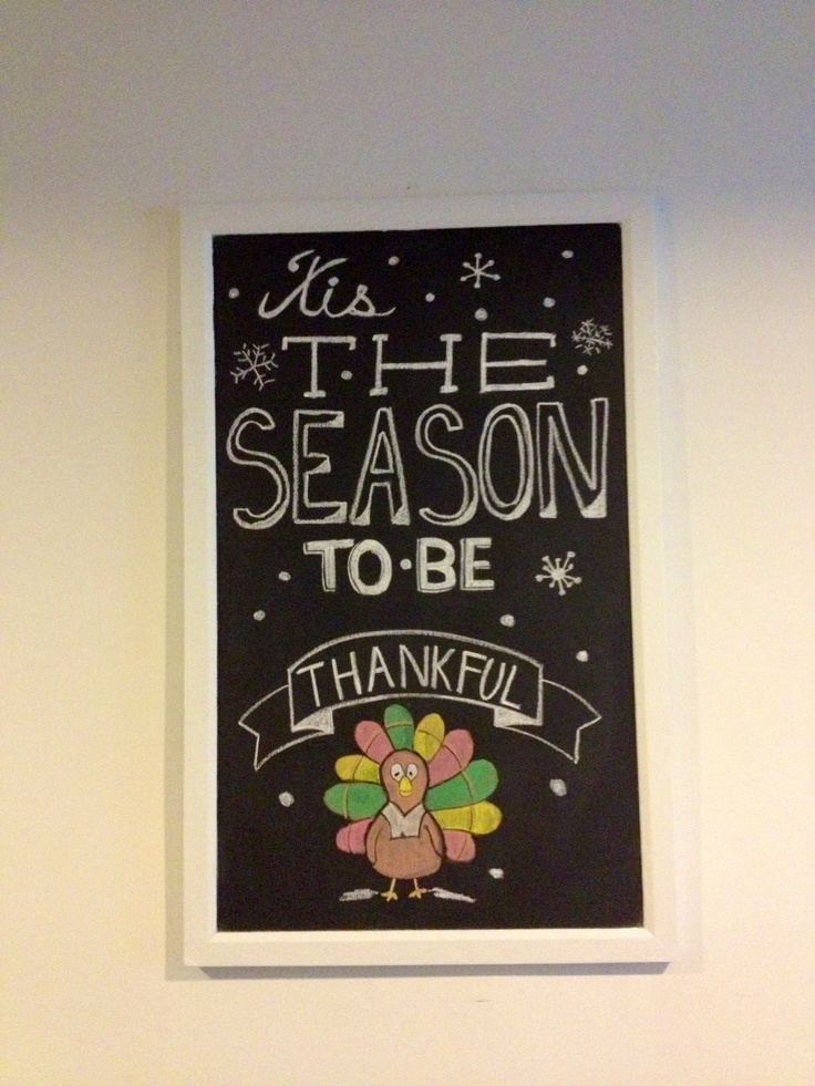 25 Unique Thanksgiving Chalkboard Ideas On Pinterest