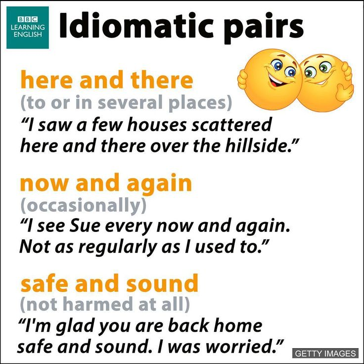 There are many idiomatic pairs like these usually with the linking word 'and' in English.   There are pairs of adverbs, pairs of nouns and identical/prepositional pairs.  Here are some common examples using adverbs and adjectives.   Learn more here: http://www.bbc.co.uk/learningenglish/english/course/lower-intermediate/unit-5/session-1/activity-3   #learnenglish #vocabulary