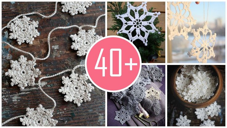 2015 Crochet snowflakes for Christmas -- you never want to lose it!