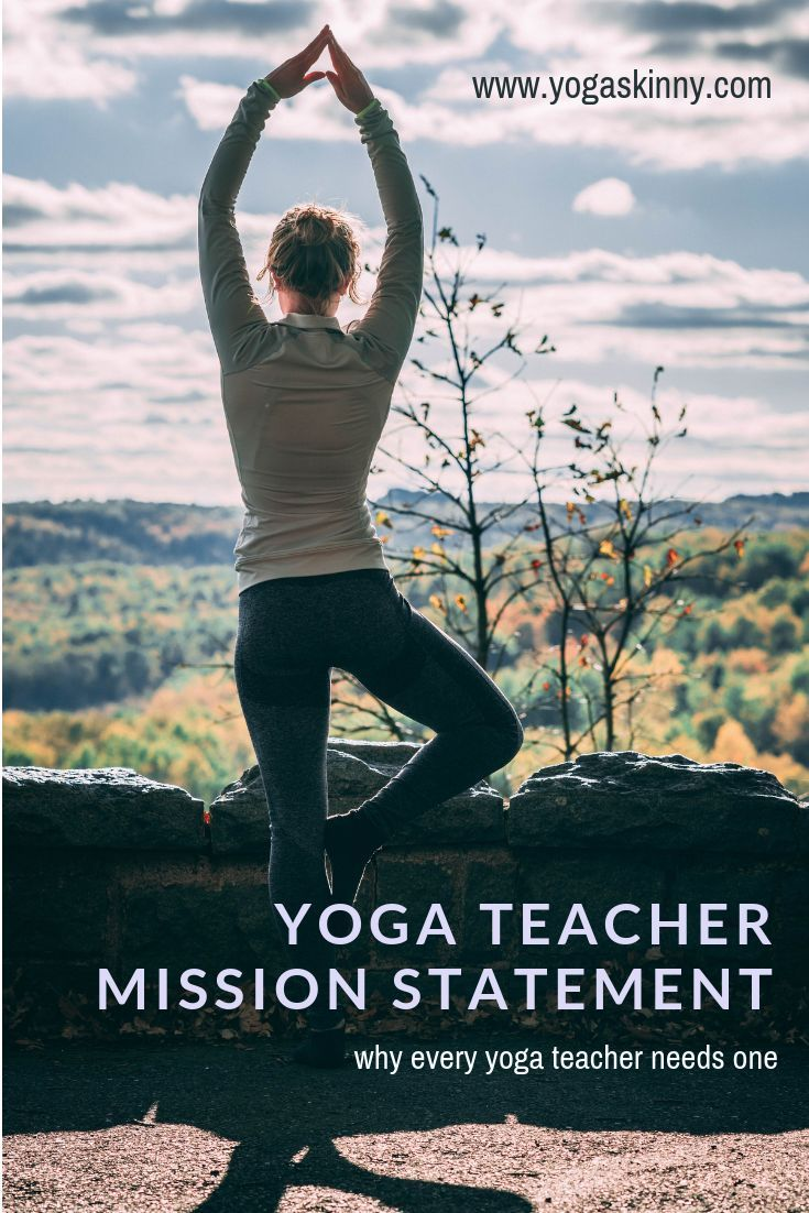 Mission Statement For Yoga Teacher To Describe Their Teaching Vision And Motivation Christian Beginners Personal
