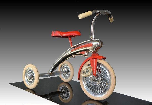 Art Deco/Streamlined Tricycle