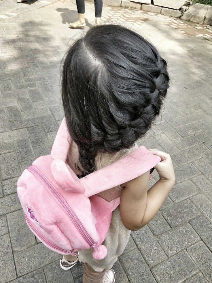 Kepang samping #hairdo #kidshairstyle #qeishairdo #kidshair #kepang #hairbraid