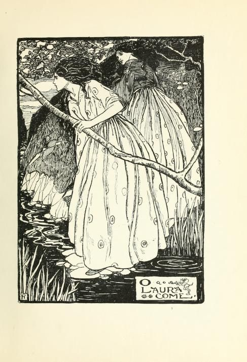 goblin market by christina rosetti essay Incestuous lesbian love in rosetti's goblin market christina rosetti's goblin market hints incestuous lesbian love as an alternative to a heterogeneous relationship goblin market is about a woman's [laura] attempt to create a perfect, true love.
