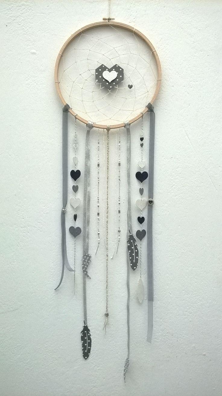 Dream Catcher de l'amour - par lousebjune sur www.kesi-art.com