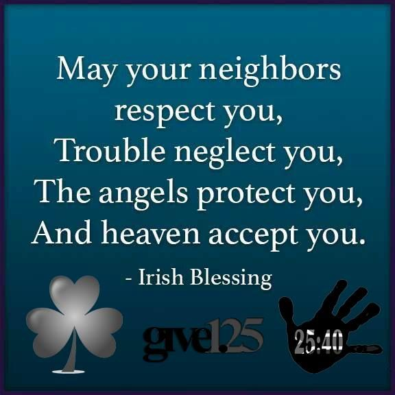 Wishing you a very blessed St. Patrick's Day. Did you know that he used the three-leafed shamrock to illustrate the doctrine of the Holy Trinity? http://www.2540.org