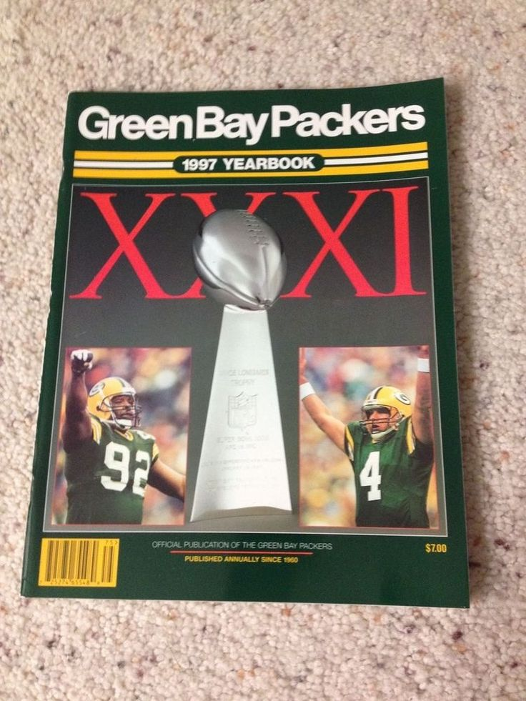 1997 GREEN BAY PACKERS YEARBOOK (NEW OLD STOCK-FRESH OUT OF BOX)