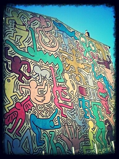 TuttoMondo - Keith Haring 1989 Pisa Tuscany Italy