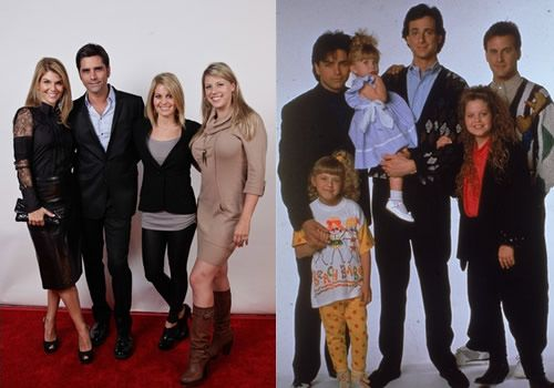 Full House | Reunion Pictures 2011 | John Stamos | Jodie ... Cast Of Full House Then And Now Pictures