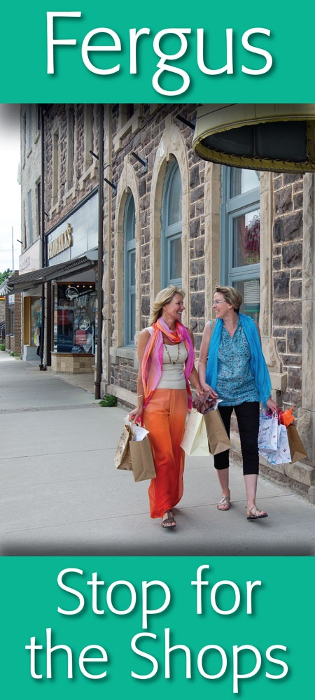 Great shops ... in Historic Downtown Fergus   https://www.facebook.com/pages/Downtown-Fergus/117343701609424