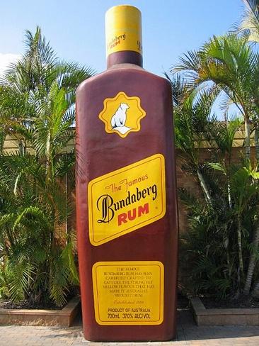 The Big Rum Bottle ~ Bundaberg QLD