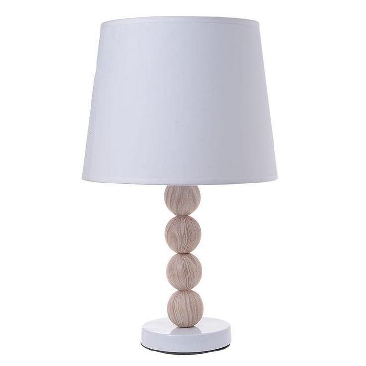CERAMIC TABLE LAMP IN NATURAL COLOR 24X24X43