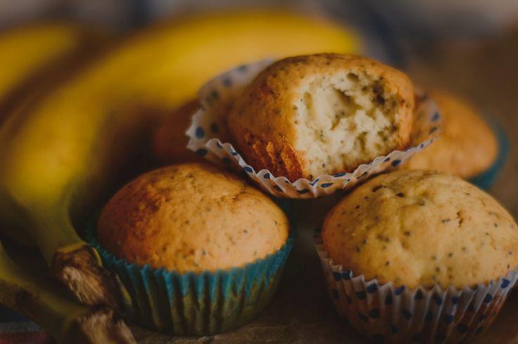 too_weird: Банановые кексы с маком