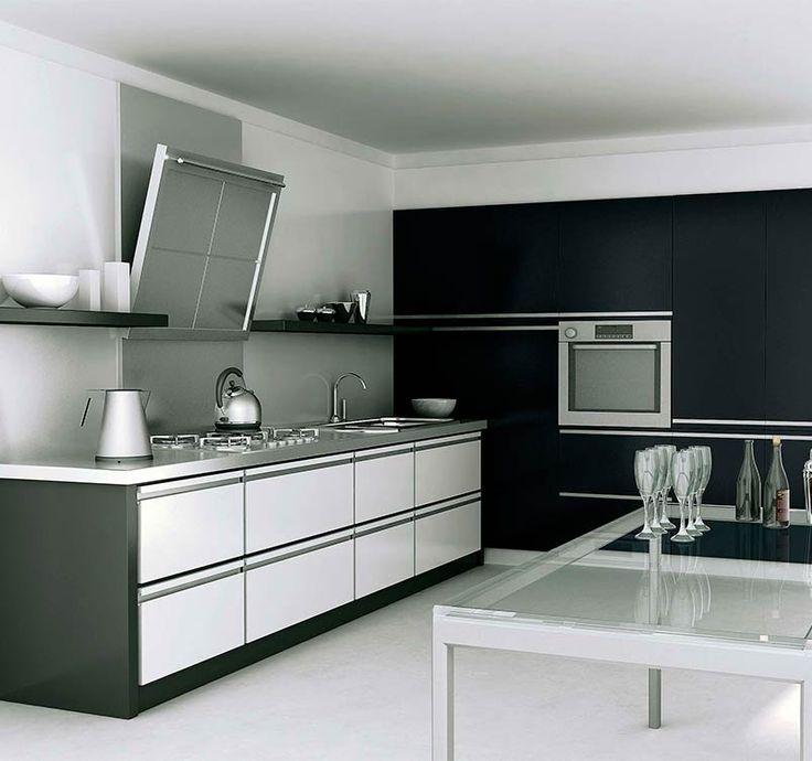 Modelo cocina moderna 26 arq cocinas pinterest for Modelos cocinas modernas
