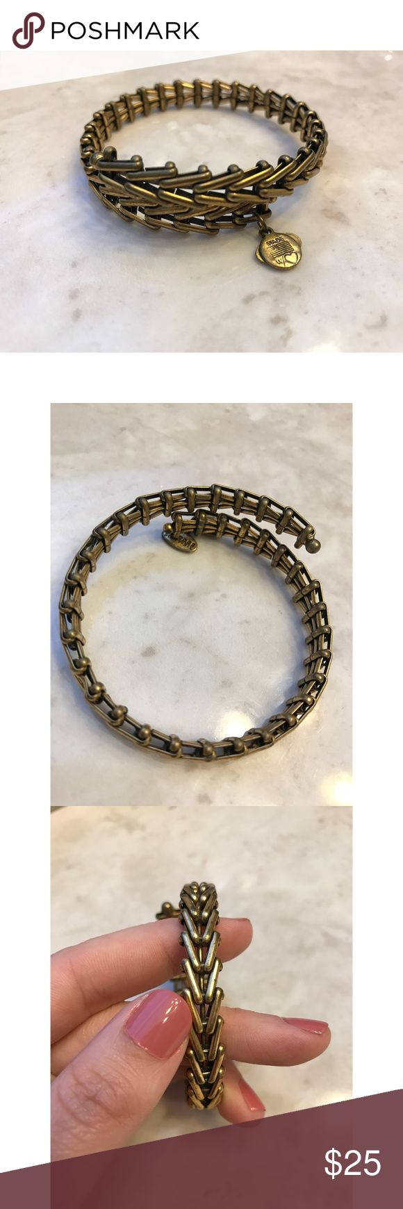 Alex&Ani Gypsy Wrap Bracelet Alex&Ani Gypsy Wrap Bracelet in Rafaelian Gold. In pre-loved condition! It does show signs of wear, but I think that adds to the look :). From a smoke-free home as well. No trades. Alex & Ani Jewelry Bracelets