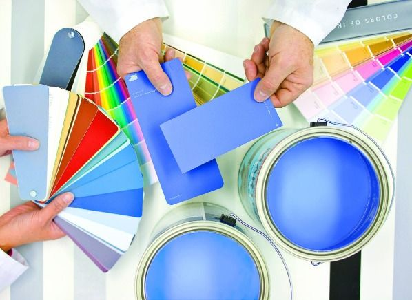 types of interior paints--eggshell/satin > semi-gloss > flat for kids rooms but in that order show most > least flaws on walls so make sure smooth surface
