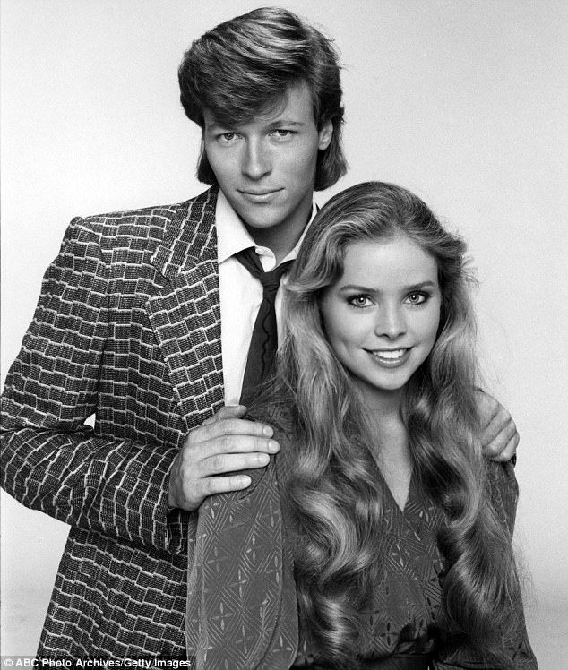 Her ex: She worked with Jack Wagner on General Hospital in 1984...