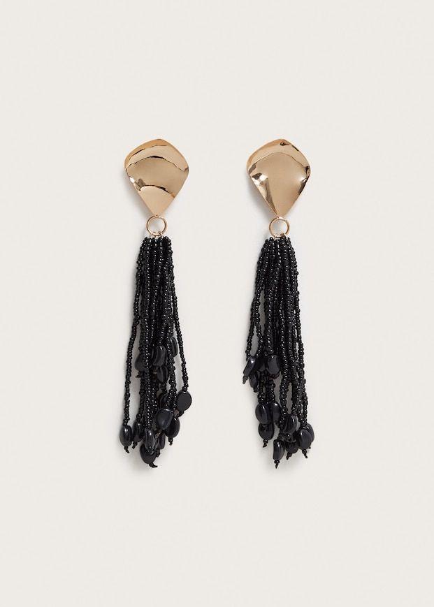 c70a3389e407b Boucles d oreille pompon miniperles - Grandes tailles
