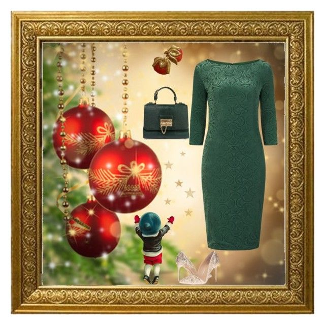 """Zoe Vine London ❤️🎄"" by christina-63 on Polyvore featuring Dolce&Gabbana and Imagine by Vince Camuto"