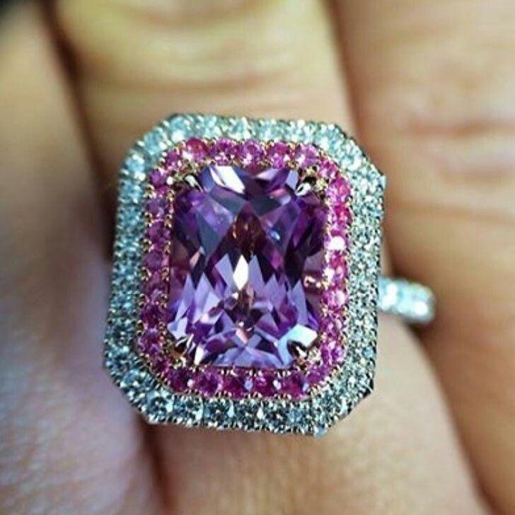 Purple #Diamond Ring  :@craigccooper #jewelry