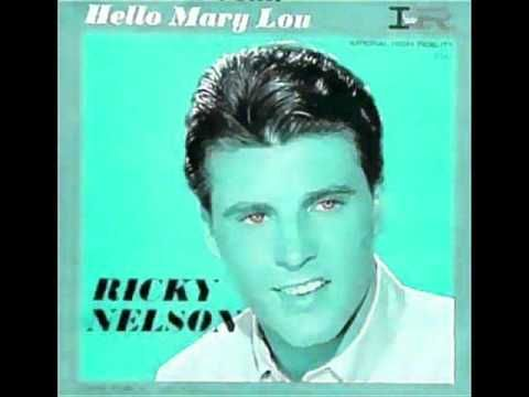"Today, 3-20 in 1961: Ricky Nelson records his song  ""Hello Mary Lou"" at Radio Recorders in Hollywood. It will be the 'B' side to yet another huge hit for Ricky - that 'A' side? 'Traveling Man.'"