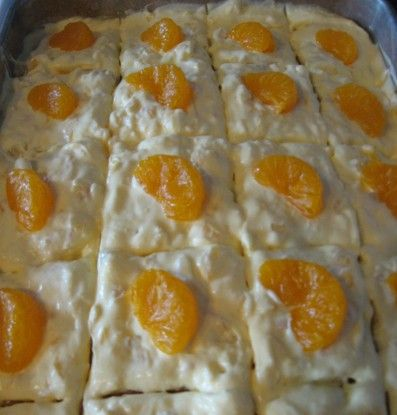 There are many versions of the Pig Pickin' Cake–the dessert served at a pig pickin' (pig roast). It may be known as a Pig Lickin' Cake, a Mandarin Orange Cake, a Pineapple Cake, some with different little variations.