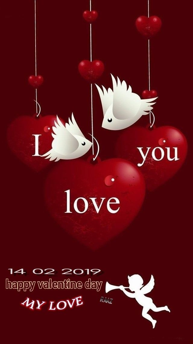Pin By Raaz Rk On Happy Valentine Day Valentines Wallpaper