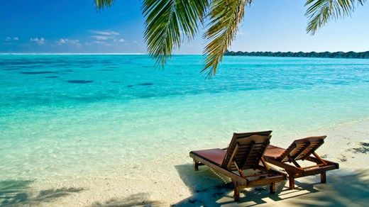Bucket list must do: Travel to the Maldives and relax on a beautiful white beach