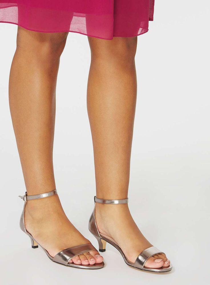 Best 25 Low Heel Sandals Ideas On Pinterest Black