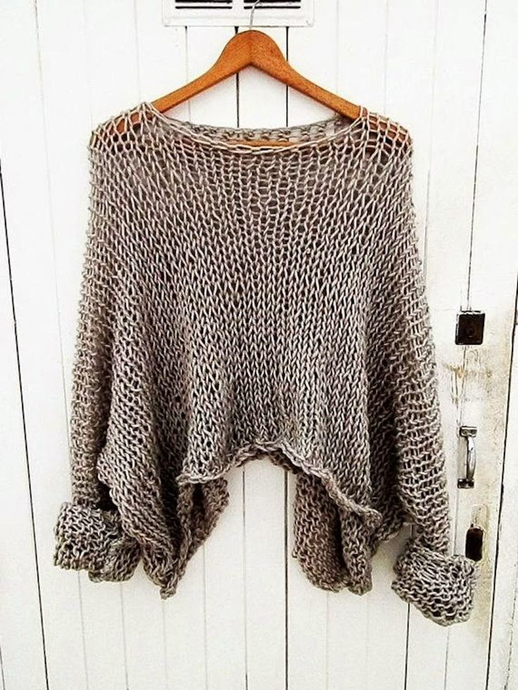 Oatmeal knit pullover