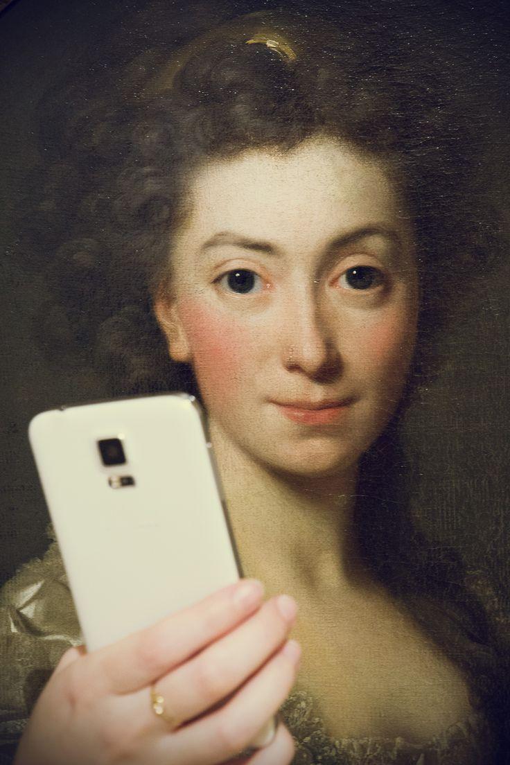 Alexander Roslin, Portret Izabeli z Flemingów ks.Czartoryskiej, 1774 #museumselfie