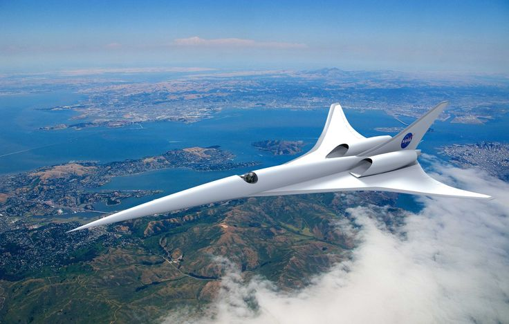 NASA plans supersonic speed for U.S. commercial flights