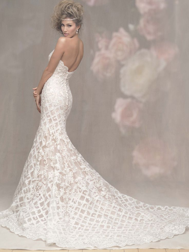 The Allure Couture Collection can be found at Bellevue Bridal Boutique, Dolce Bleu, Pearls and Lace and The Wedding Bell.