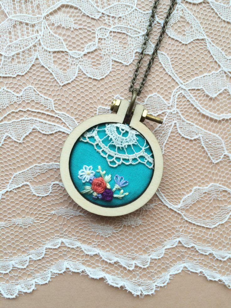 Best diy mini embroidery hoop ideas on pinterest