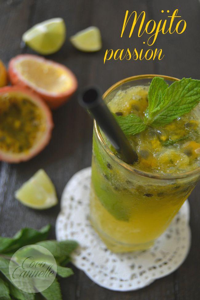 Mojito aux fruits de la passion