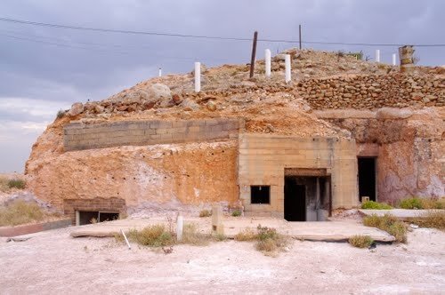 Deserted House at Coober Pedy, South Australia