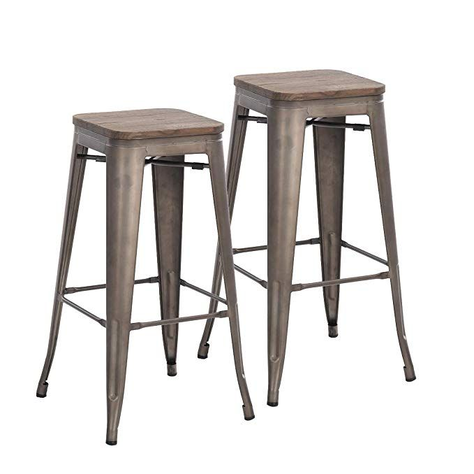 Buschman Metal Bar Stools 30 Bar Height Indoor Outdoor And