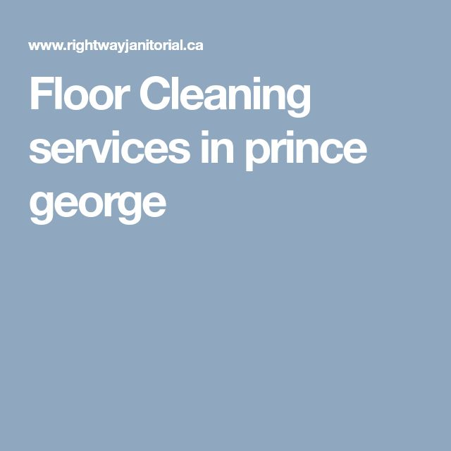Floor Cleaning services in prince george