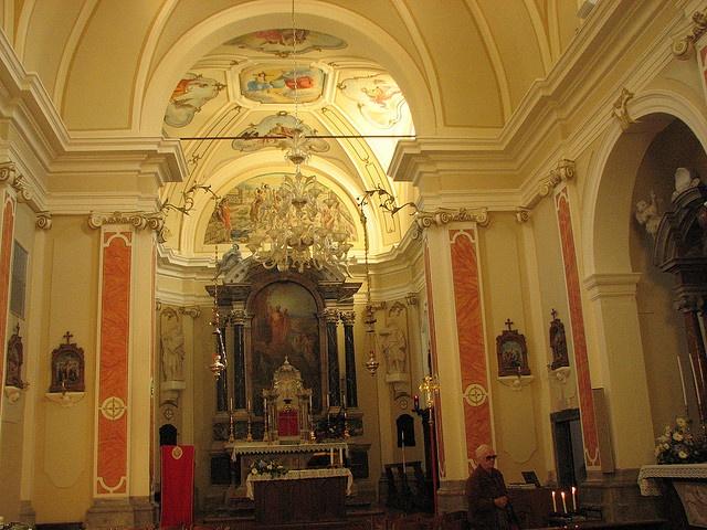 03 - Illegio - Interno chiesa